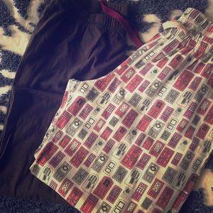 Comfy lightweight pj pants. winter.